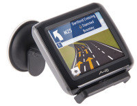 Navman Mio Spirit 380 Satellite Navigation System (UK and ROI Maps) 3.5 Screen FREE Pouch