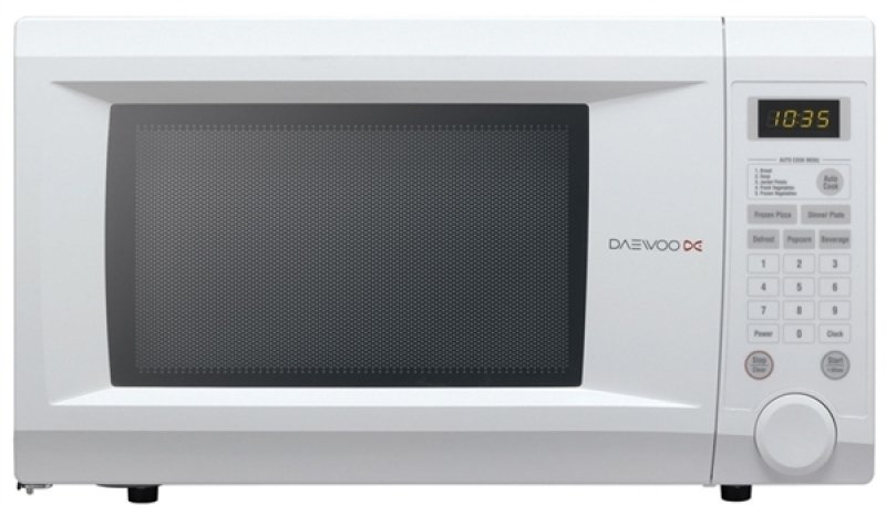 daewoo touch control family microwave white microwaves. Black Bedroom Furniture Sets. Home Design Ideas