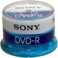 Sony Dvd-r 16xinkjet Print Spindle - 50pcs