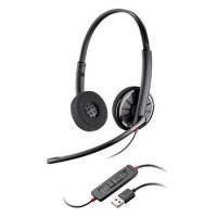 Plantronics Blackwire C320 UC Bin MOC Headset Black