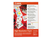 Canon Paper HR-101 High Resolution  A4 Photo Paper 200 Sheets 105gsm