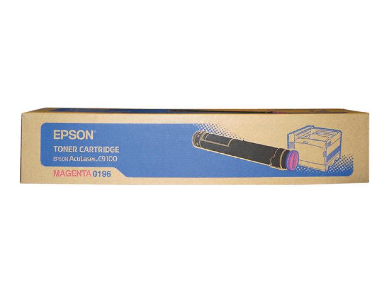Epson C9100 Magenta Toner Cartridge 12,000 Pages