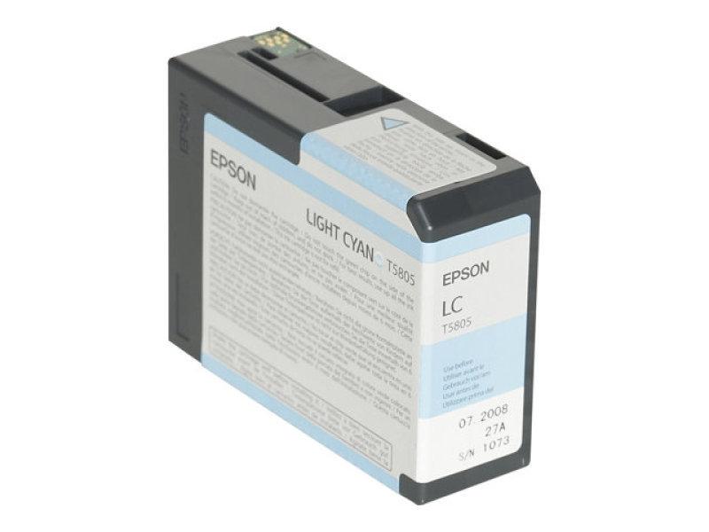 Epson T5805 80ml Light Cyan Ink Cartridge