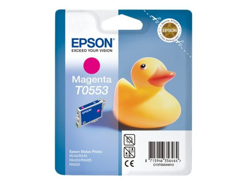 Epson T0553 8ml Magenta Ink Cartridge 290 Pages