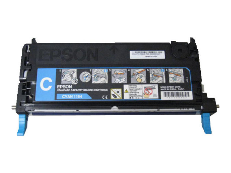Epson - Toner cartridge - 1 x cyan - For Aculaser C2800