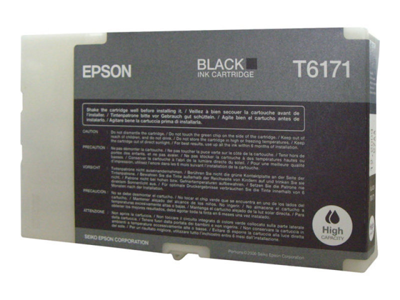 Epson T6171 High Capacity Black Ink Cartridge 4000 Pages