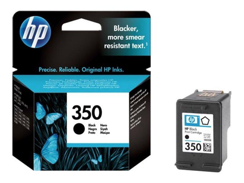 *HP 350 Black Ink Cart + Vivera Inks