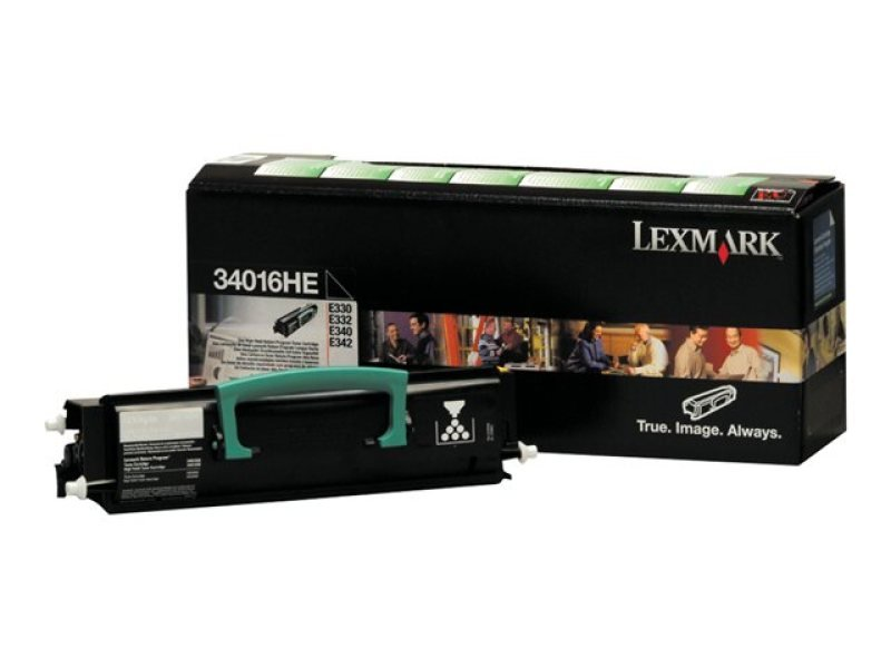 Lexmark 34016HE Black Toner cartridge
