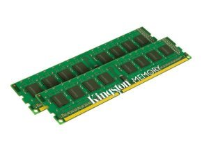 Kingston ValueRAM 16GB 2x8GB Memory DIMM 240-pin 1600MHz 1.5V Memory