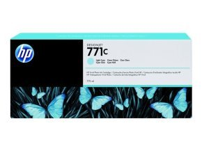 HP 711C 775ml Light Cyan Ink Cartridge