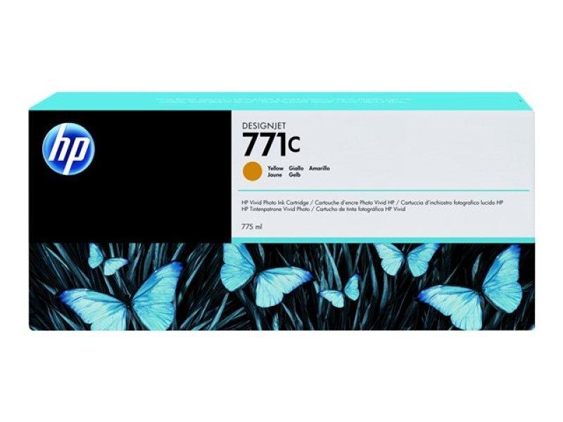 HP 711C Yellow OriginalInk Cartridge - Standard Yield775m - B6Y10A