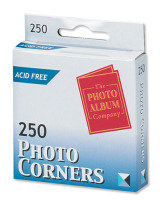 Photo Corners White Pk250