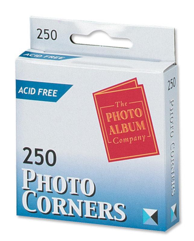 Photo Corners White Pk250