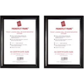 Photoalb A4 Promote It Frame Black