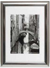 Photo Album A4 Cert Frame Silver Chrome