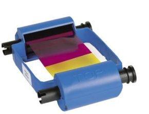 Ribbon Color Ymckok 165image Ec - W/cleaninig Roller For P120i