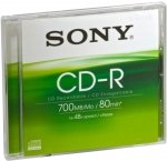 Sony Cd-r 48x 700mb Jewel Case