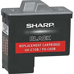 Sharp Ux-b700 Black Ink Cartridge
