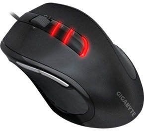 Gigabyte M6900 7 button optical gaming mouse USB