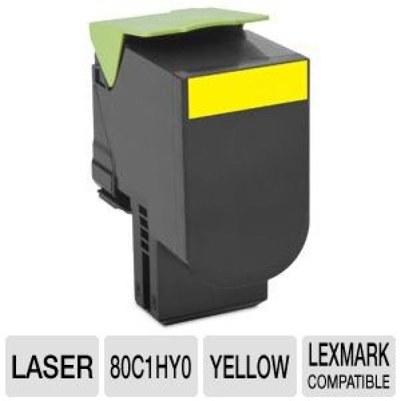 Lexmark C792X1YG Yellow Extra High Yield Toner Cartridge