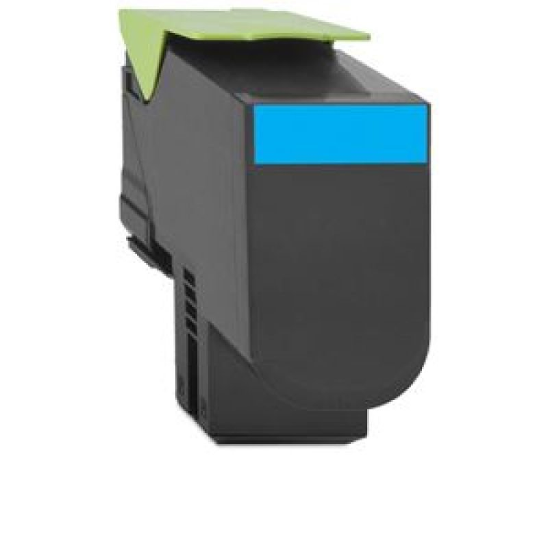 Lexmark Extra High Yield Cyan Toner Cartridge - C792X1CG