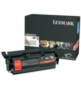 Lexmark Extra High Yield Black Toner Cartridge - 0X654X31E