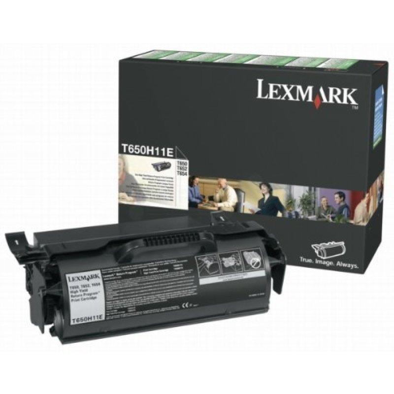 Lexmark T650/T652/T654 High Yield Black Toner