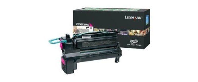 Lexmark X792X1MG Magenta High Yield Toner Cartridge