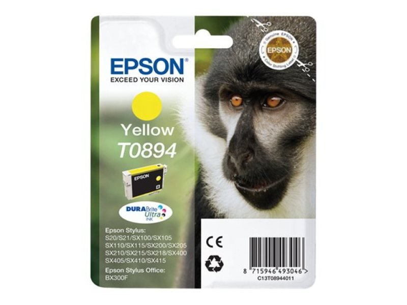 Epson T0894 Yellow Ink Cart
