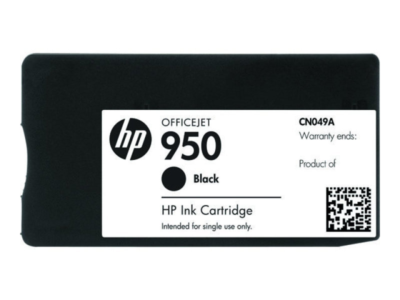 HP 950 Black Ink Cartridge - CN049AE