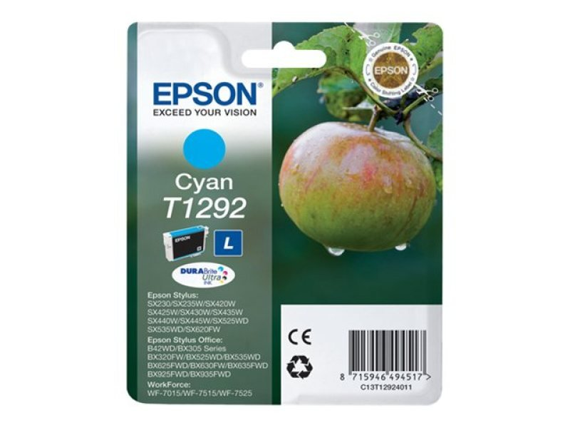 Epson T1292 Cyan Ink Cartridge