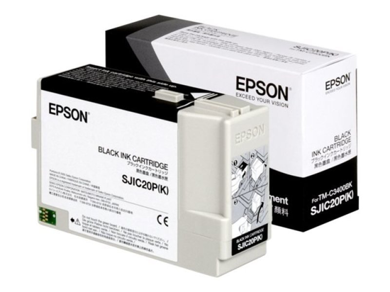 Epson SJIC20P(K) Black Ink Cartridge