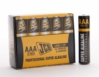 JCB Industrial AAA Alkaline Batteries - 10 Pack