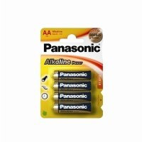 Panasonic Bronze AA Alkaline Batteries - 4 Pack