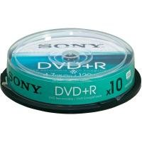 Sony Dvd+r 16x Spindle 10 Pcs
