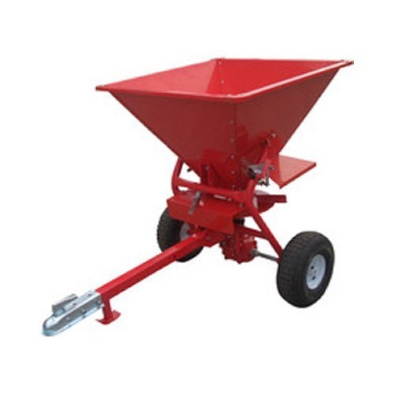 Image of Red 350lb ATV Salt Spreader 160 Litre