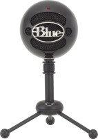 Blue Snowball Omnidirectional/Cardioid USB Microphone - Black