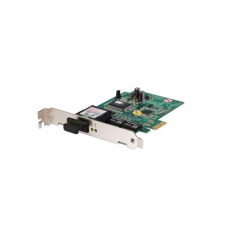 StarTech.com 1000 Mbps Gigabit Ethernet Multi Mode SC Fiber PCI Express Card - 550m