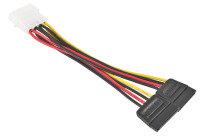 Xenta LP4 Molex MALE to 2x Serial ATA SATA Power Adapter