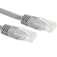 Xenta Cat5e UTP Patch Cable (Grey) 0.5m