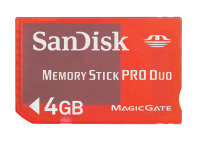 Sandisk 4gb Pro Duo Gaming Memory Stick