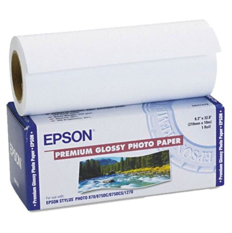 Epson Paper Premium Glossy Photo Roll 329mm x 10m