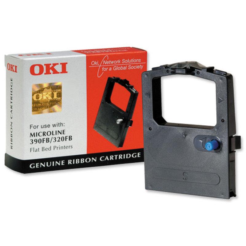 Oki M3390 Black Printer Ribbon