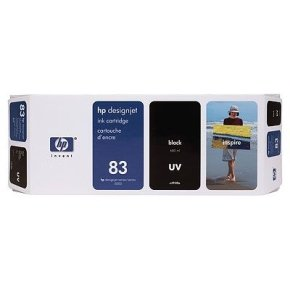 HP 83 UV Black Ink Cartridge - C4940A