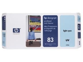 HP 83 Light Cyan UV Ink Cartridge - C4944A