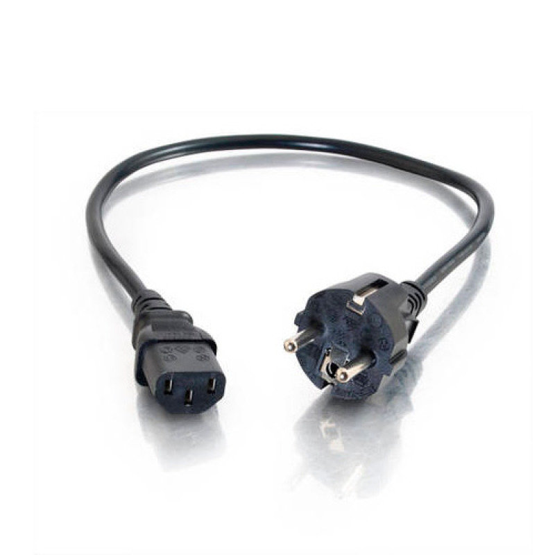 C2G, Universal Power Cord (CEE 7/7), 3m