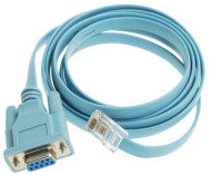 CONSOLE CABLE 6FT WITH - RJ45 AND DB9F