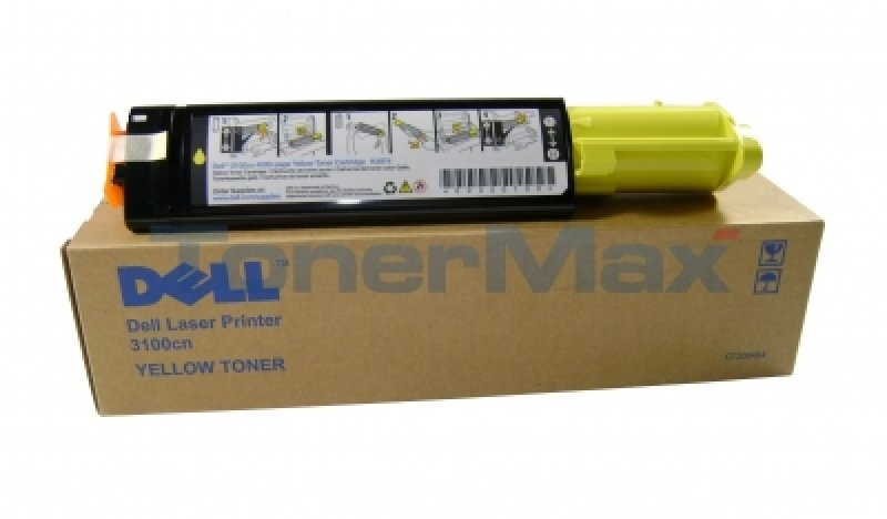 Dell Toner 3100cn 4k Yellow