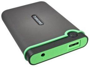 Transcend 500GB Storejet M3 External Hard Drive