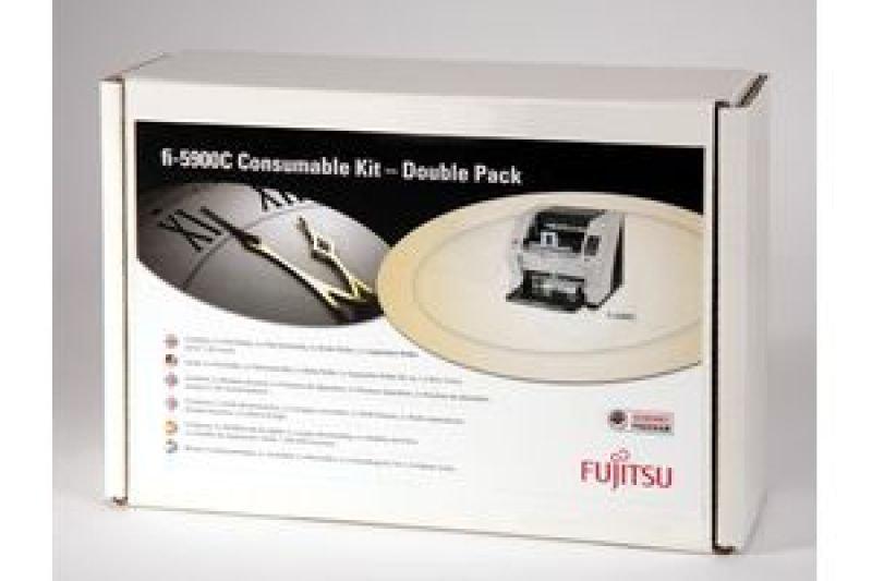 Image of Fujitsu Consumable Kit F Fi-5900c 2 Pac